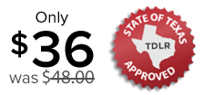 Texas Drivers License for Ages 18, 19, 20, 21, 22, 23 and 24